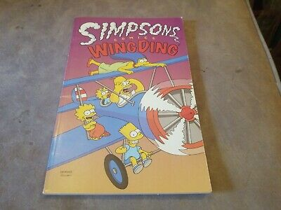 SIMPSONS COMICS WING DING FIRST  EDITION. Good