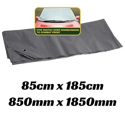 1x Car Windscreen Cover Protection Frost or Sun Window Protect Cool Suction Pads