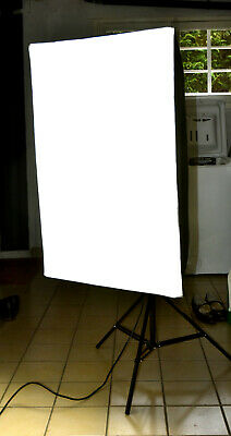 2X ÉCLAIRAGE PHOTO LUMIERE CONTINUE 60x90CM REEFLECTEUR DIFFUSEUR SOFTBOX PIED