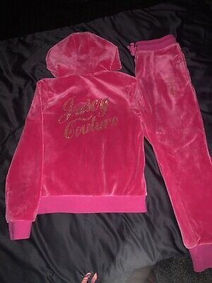 girls juicy couture tracksuit 10-11 Years