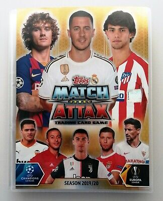 Topps Match Attax UEFA Champions League 2019 2020 -Set 393 Cards Spanish Edition