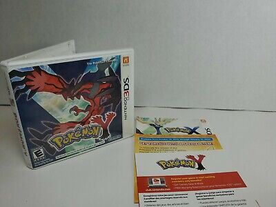 Pokemon Y (Nintendo 3DS, 2013) Complete - Free Shipping - Perfect Condition