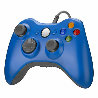 Wired Game Controller Gamepad Joystick for Microsoft Xbox 360 Slim PC