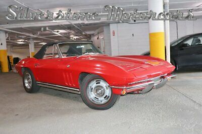 1965 Chevrolet Corvette Stingray 1965 Convertible 4 Speed 327cid Great Driver Great Condition