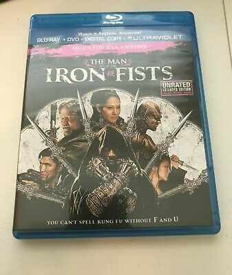 The Man With the Iron Fists: Unrated Extended Edition - Blu Ray version Only
