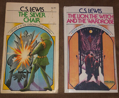 2 C.S. Lewis 1st Collier Ed. Chronicles Of Narnia