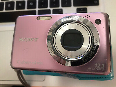 SONY CYBER-SHOT DSC-W210 DIGITAL CAMERA - PINK 12.1 Mega Pixels