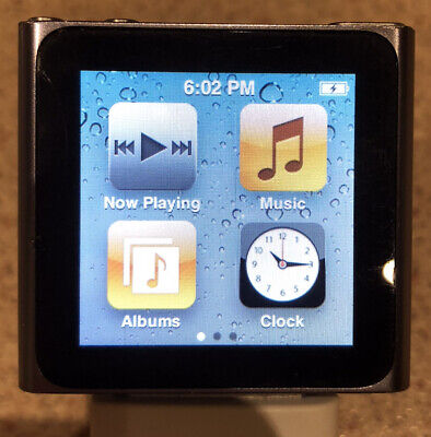 USED Apple iPod nano 6th Gen Silver 8 GB