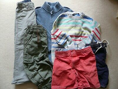 6 X Bundle Of Age 2 3 Next Gap Rebel Summer Shorts Tops Trousers Boys