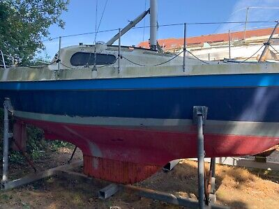 21ft yacht boat project