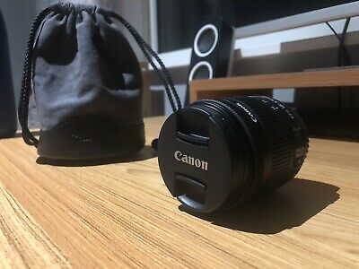 Canon EF-S 18-55mm f/4-5.6 IS STM Lens (Bag Included!) BRILLIANT CONDITION!