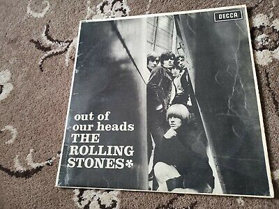 THE ROLLING STONES Out Of Our Heads UK 1965 MONO Unboxed Decca LK 4733 BEAT LP