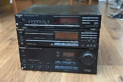 Technics HiFi stack System - Amplifier (Amp) / Radio and CD player