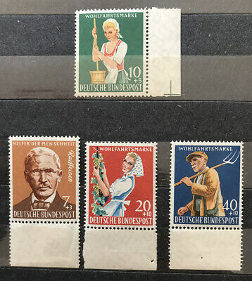 Germany 1958 Agriculture Set MNH