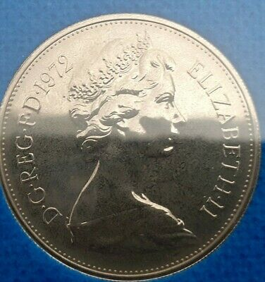 1972 10P Larger  proof Coin. Not released. Low Mintage. Excellent for age