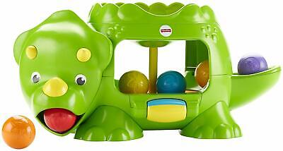 Fisher-Price DHW03 Double Poppin' Dino  Great Working Condition!