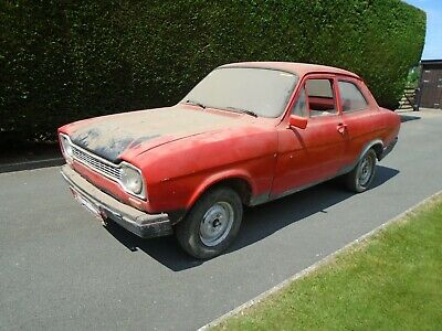 Ford Escort MK1 2 Door LHD 1973 Complete car with V5 in need of restoration