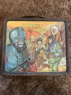 Vintage Metal Lunch Box Planet Of The Apes