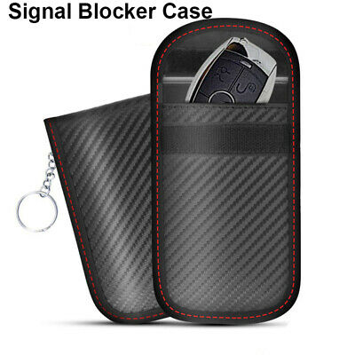 Blocking Bag Cover Signal Blocker Case Faraday Pouch For Keyless Car Keys_