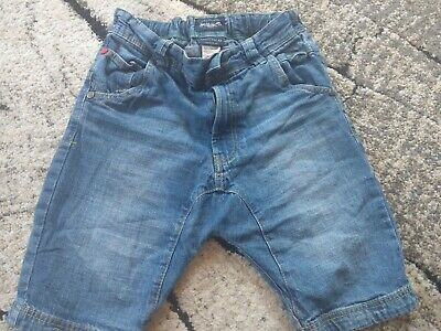 Next Boys Denim Shorts Age 7 Years with adjustable waist