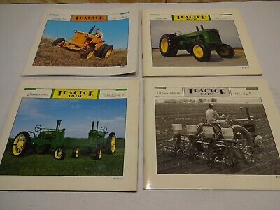 Tractor Digest John Deere Collector Magazine Vol 2 All 4 Issues 1995