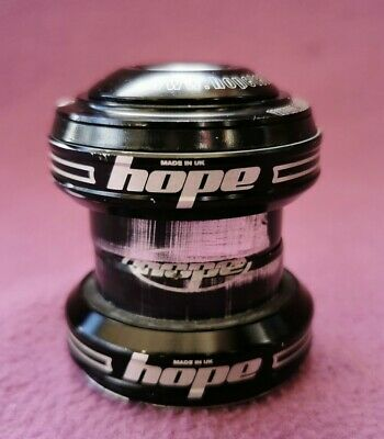 "Black Hope external headset 1 1/8"" EC34 cups with top cap and head doctor"