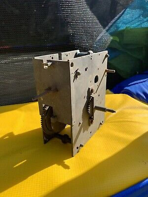 Antique Early Unusual LONGCASE GRANDFATHER CLOCK Movement . No Reserve