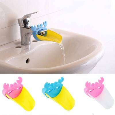 Durable Faucet Extender Washing Hands Bathroom Sink Crab Shape Water Faucet Tap