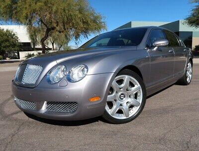 2006 Bentley Continental Flying Spur Sedan Mulliner 20inch Wheels Chrome Grill Fully Serviced 2005 2007 2008 2009 Bentley