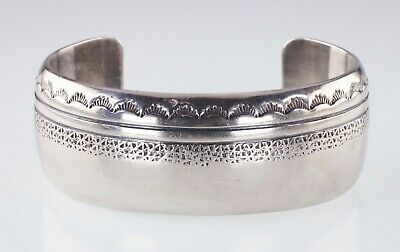 Herbert Taylor Argento Sterling Timbro Design Polsino Bracciale