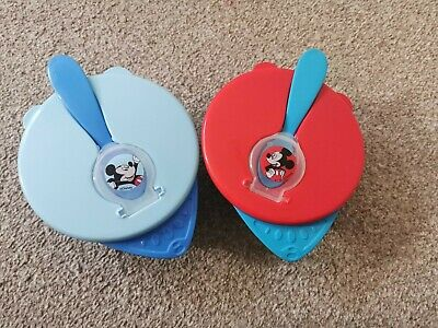 Disney Mickey Mouse Baby Bowls And Spoons