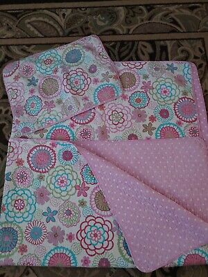 Girls Twin Comforter - Reversible with Pillow Sham