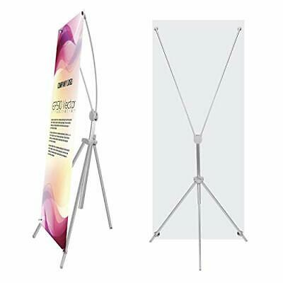 """TheDisplayDeal Adjustable Aluminum Banner Stand Fits Any Banner Size from 24""""..."""