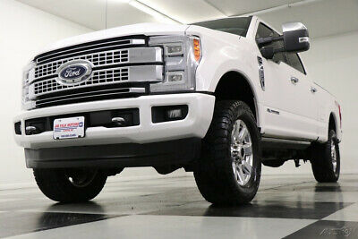 2017 Ford F-250 Platinum Crew Cab 4WD 4X4 Diesel Sunroof Navigatio Used Like New Heated Cooled Leather Navigation Power Stroke Camera 18 19 2018 17
