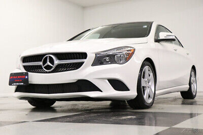 2016 Mercedes-Benz CLA-Class AWD CLA 250 4MATIC Sunroof Leather Cirrus White Se Used Heated Black Seats Camera Bluetooth Low Miles Keyless Entry 17 18 2018 16