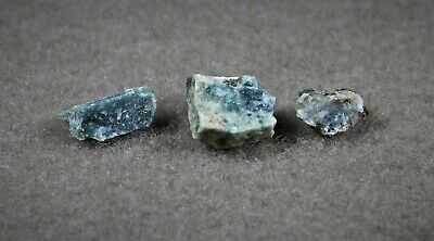 RARE  SERENDIBITE,  from Warren Co. N.Y.  Old estate collection (3 pcs)