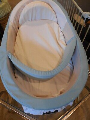 Mumbelli The only Womb-Like and Adjustable Infant Bed Patented Design Blue