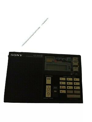 Perfect Condition Sony ICF-7600D DIGITAL  SHORTWAVE / AM/FM RADIO