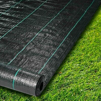 Weed Control Fabric Landscape Ground Cover Membrane 1m, 2m, 3m, 4m, 5m Widths