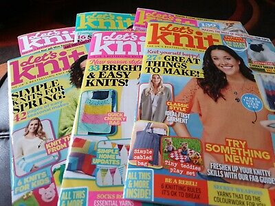 6 ,Lets knit magazine