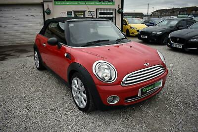 Mini 1.6 Cooper Convertible Red 2010 - Stunning Low Mileage Example