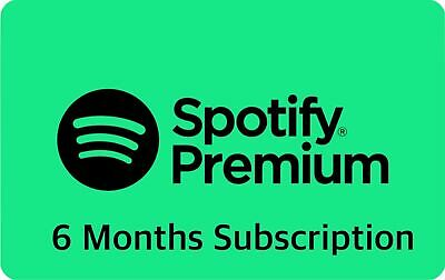 Spotify Premium 6 Months Code - New Accounts Only (RRP £59.94) 📜SAVE £50