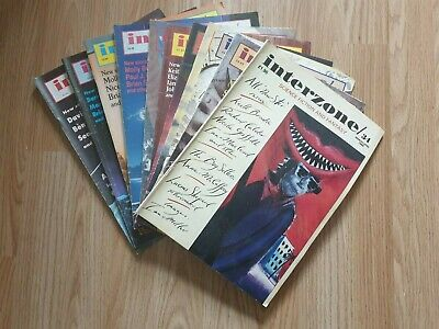 11 x Interzone Science-Fiction Magazine Bundle - 90s