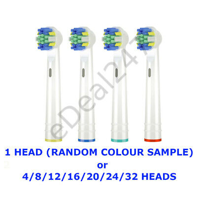 Toothbrush Premium Replacement Heads Compatible with Braun Oral-B Floss Action