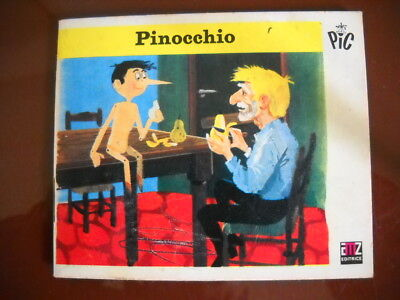 PINOCCHIO AMZ collana PIC supplemento a Minimondo n°  5/6 1973