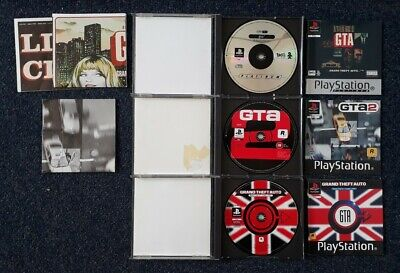 "Playstation 1 PS1 ""GTA - Grand Theft Auto + 2 + London"" alle 3 Teile"