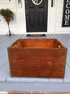 Antique Butter Krust Bread Crate Box 40's