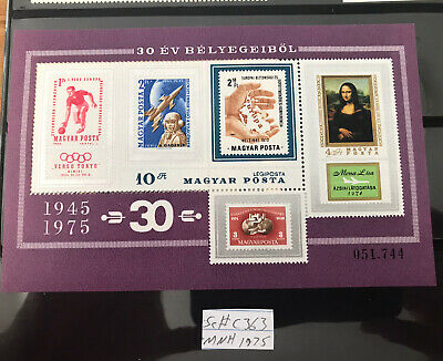 Hungry Olympic Stamps Souvenir Sheets And Sets