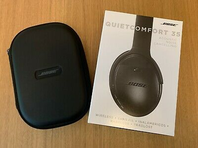 Bose Quietcomfort 35 Wireless Noise Cancelling Headphones Boxed Immaculate Black
