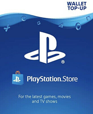 PlayStation e wallet top up - WORTH £30.00
